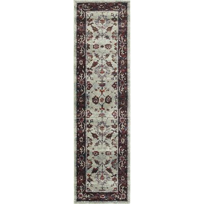 Rosalia Oriental Red Area Rug Rug Size: Runner 22 x 83