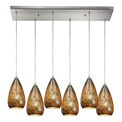 Marnie 6-Light Kitchen Island Pendant