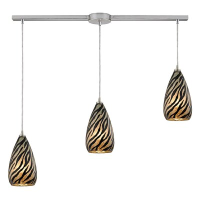 Adalgar 3-Light Kitchen Island Pendant