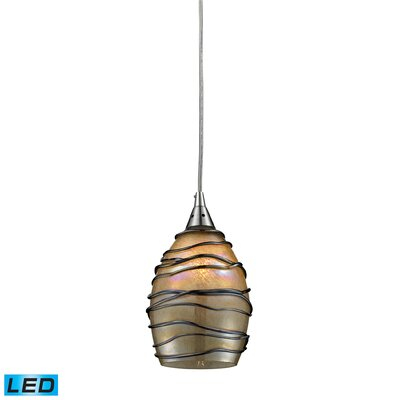 Angelika 1-Light Mini Pendant