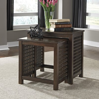 Massachusetts 2 Piece Nesting Tables