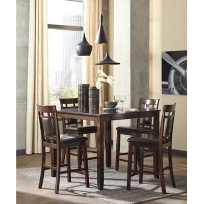 Kouaoua 5 Piece Counter Height Dining Set