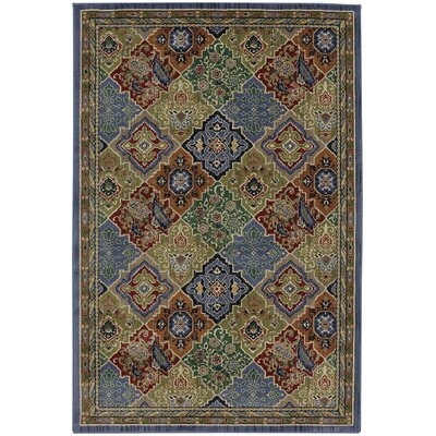 Delora Periwinkle Area Rug Rug Size: Rectangle 8 x 11