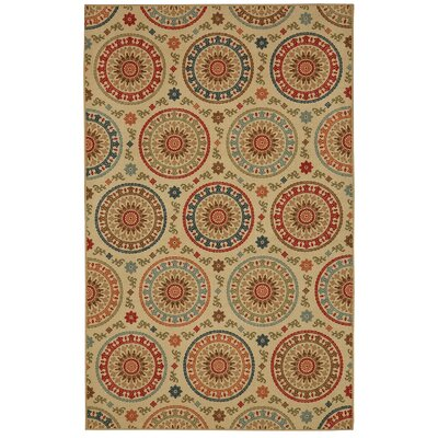 Mellah�Multi Area Rug Rug Size: Rectangle 5 x 7