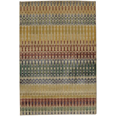Maroc Columbia Yellow Area Rug Rug Size: Rectangle 53 x 710