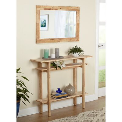 Barney Console Table and Mirror Set
