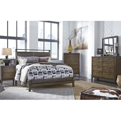 Varian Upholstered Panel Customizable Bedroom Set