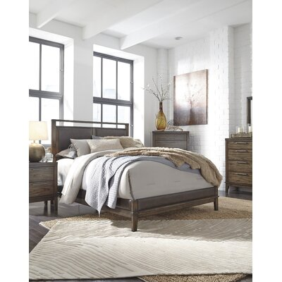 Labhira Upholstered Panel Bed Size: Queen