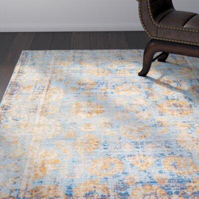 Drachten Persian Vintage Aqua Area Rug Size: Runner 26 x 8