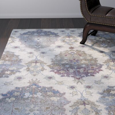 Latta Ivory Area Rug Rug Size: Rectangle 77 x 1010