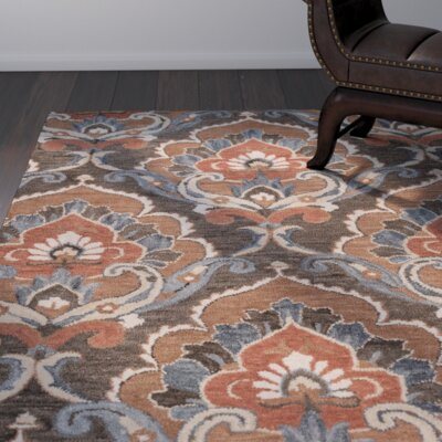 Acker Hand-Tufted Brown Area Rug Size: Runner 26 x 8