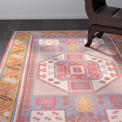 Doukala Multi-Colored Area Rug Rug Size: 8'6
