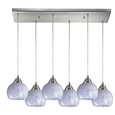 Angeletta 6-Light Kitchen Island Pendant