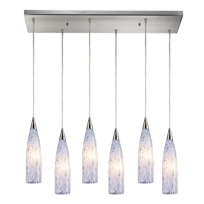 Apolline 6-Light 60W Kitchen Island Pendant