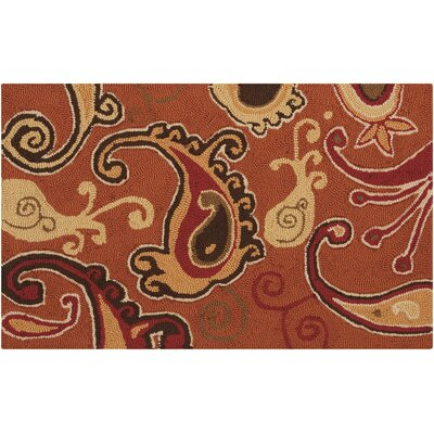 Rosenwald Orange Area Rug