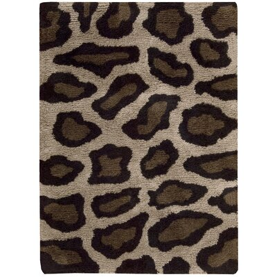 Ainslie Hand-Tufted Brown/Black Area Rug