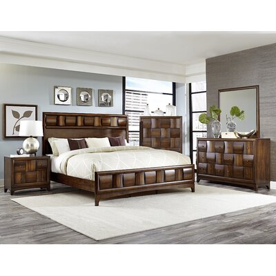Ainslie Brook Panel Bed Size: Queen