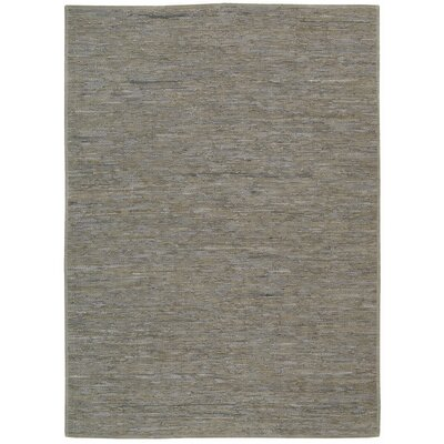 Aggie Creek Hand-Woven Gray Area Rug Rug Size: 8 x 10