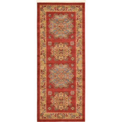 Glendale Red/Brown Area Rug