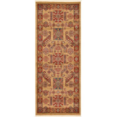 Valley Beige Area Rug Rug Size: Rectangle 67 x 27