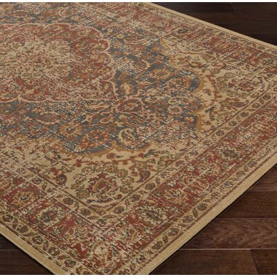 Cerys Oriental Brown Area Rug Rug Size: Rectangle 52 x 76