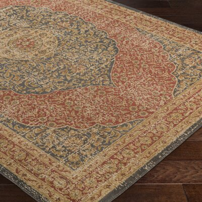 Cerys Neutral Brown Area Rug Rug Size: Rectangle 52 x 76