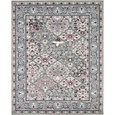 Janiyah Gray Area Rug Rug Size: 22 x 3
