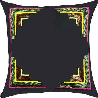 Pallavi Handcrafted Cotton Throw Pillow