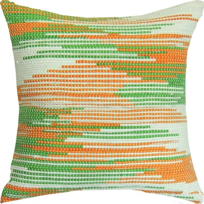 Pallavi Saffron Beauty Handcrafted Throw Pillow