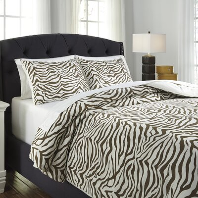 Ambler 3 Piece Duvet Cover Set Size: King