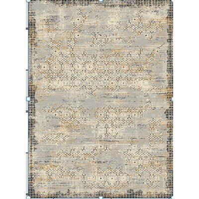 Ashley Gray/Brown Area Rug Rug Size: 5 x 8