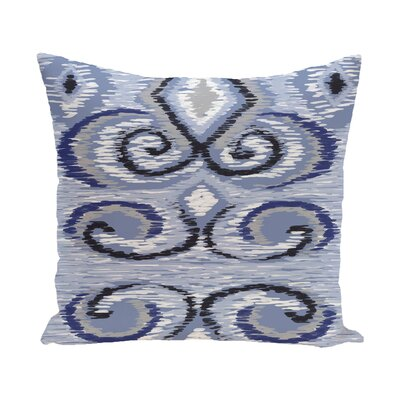 Kaylen Geometric Print Outdoor Pillow Color: Paloma, Size: 18 H x 18 W x 1 D