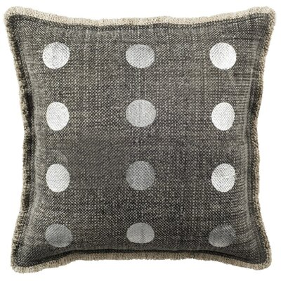 Markhal Metallic Dots Cotton Throw Pillow