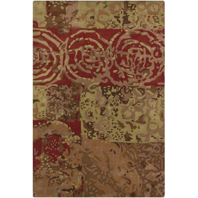 Tahar Hand Tufted R Contemporary Area Rug Rug Size: 9 x 13