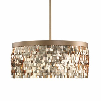 Edaoura 3-Light Drum Pendant