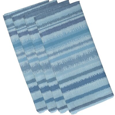 Rafia Raya De Agua Napkin Color: Light Blue WDMG5211 32665072