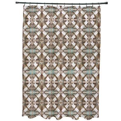 Viet Shower Curtain Color: Brown