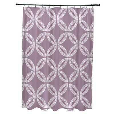 Viet Tidepool Shower Curtain Color: Lavender