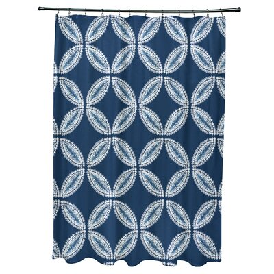 Viet Tidepool Shower Curtain Color: Blue