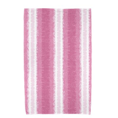 Navarro Lines Bath Towel Color: Pink