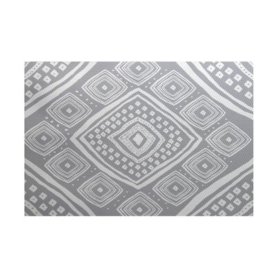 Mercado Gray Indoor/Outdoor Area Rug Rug Size: 2 x 3