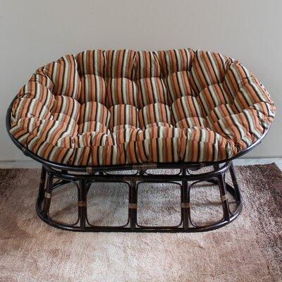 Bouirou Double Papasan Chair Upholstery: San Fran