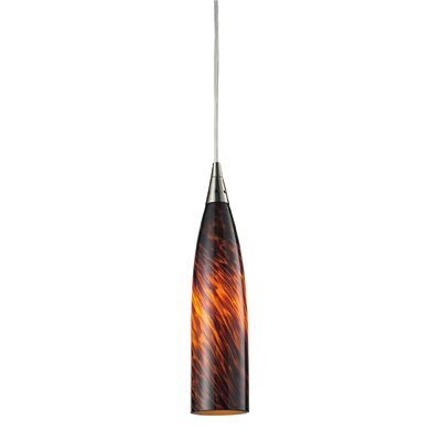 Apolline Light Mini Pendant Glass Type: Fire Red, Size: 10 W