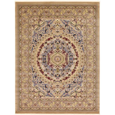 Altadena Light Brown Area Rug Rug Size: Runner 33 x 13
