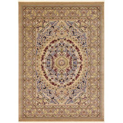 Altadena Light Brown Area Rug Rug Size: 67 x 910