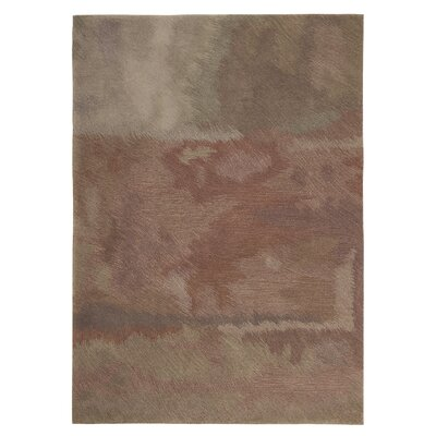 Pheonix Hand-Woven Purple/Green Area Rug Rug Size: 5 x 8