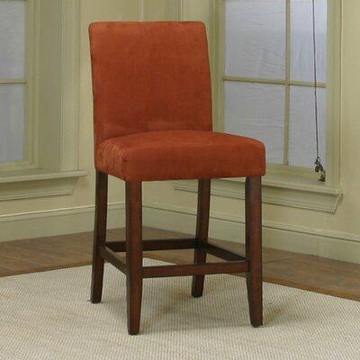 Homole 24 inch Bar Stool Upholstery: Brick