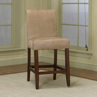 Homole 24 Bar Stool Upholstery: Stone