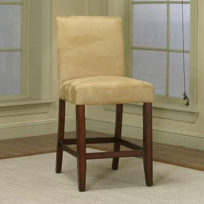 Homole 24 Bar Stool Upholstery: Wheat