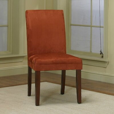 Homole Parsons Chair Upholstery: Brick